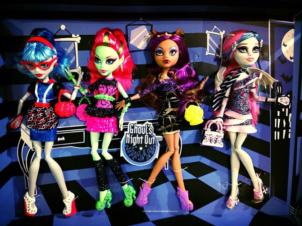 Monster High Ghouls Night Out 4-Pack | Colin Turner | Flickr