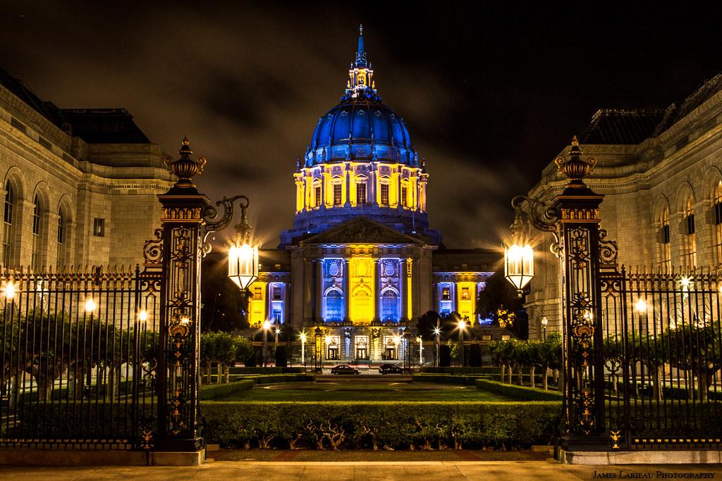San Francisco City Hall Warriors Attire As Weve Seen