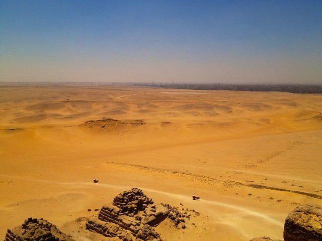 climbing the pyramids in egypt