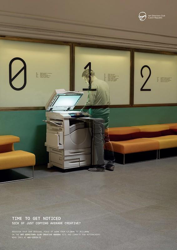 Club des DA - Man printer