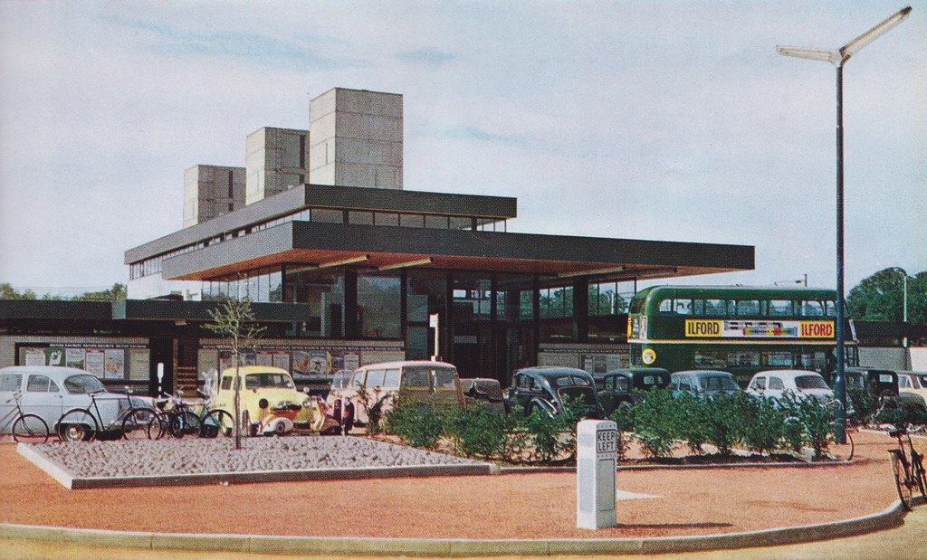 Harlow New Town Essex C1962 Harlow Town Station Flickr
