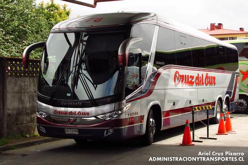 Cruz del Sur - Castro - Marcopolo Paradiso 1200 / Volvo (GSTJ55)