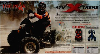 Brochure The Peak Adventure ATV Chiang Mai Thailand 4