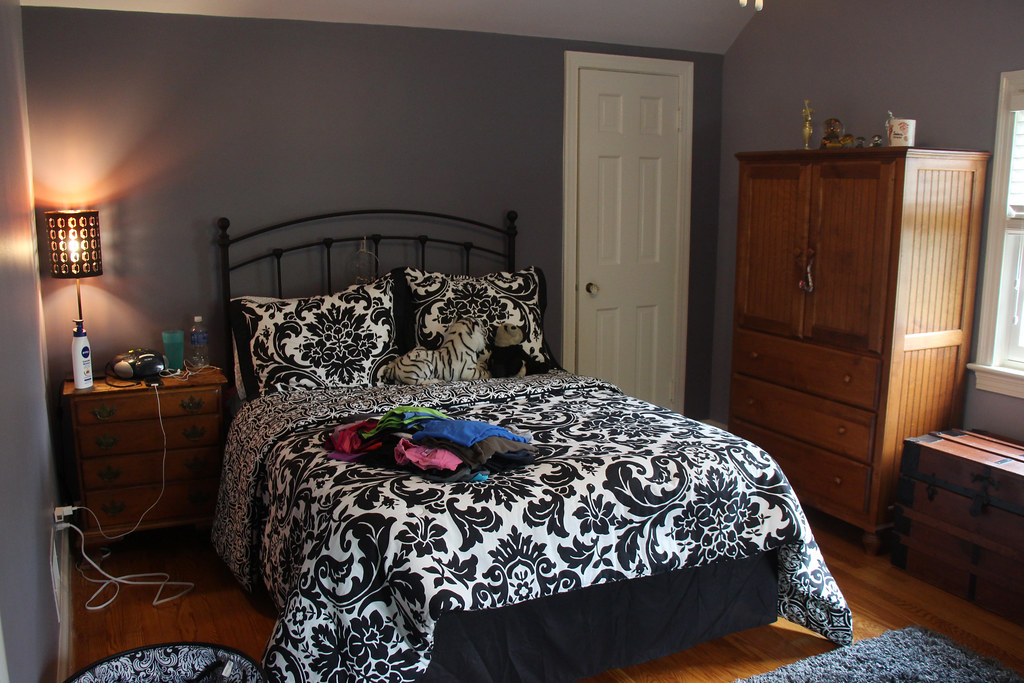 Teen Girl S Bedroom Fresh Paint Just To Be Clear The