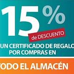 certificados de regalos DESCUENTOS sears - 25jul14
