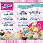 telefonos y sucursales Pasteles MISTER CAKE haz tus pedido y reservaciones