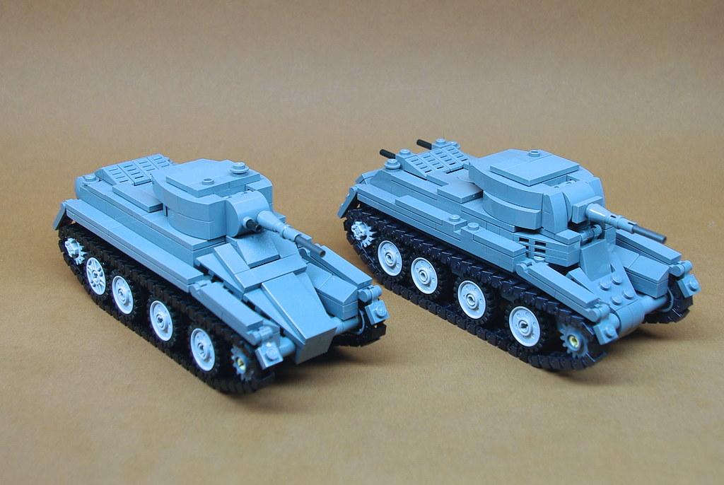 Soviet BT Series Cavalry Tanks 1 BT 5 L Amp BT 7