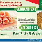 Promociones KREEF jamon serrano y queso manchego - 11sep14