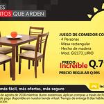 Juego de comerdor COMMODITY La curacao Guatemala