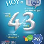 TIGO recargas multiplica tu saldo - 27ago14