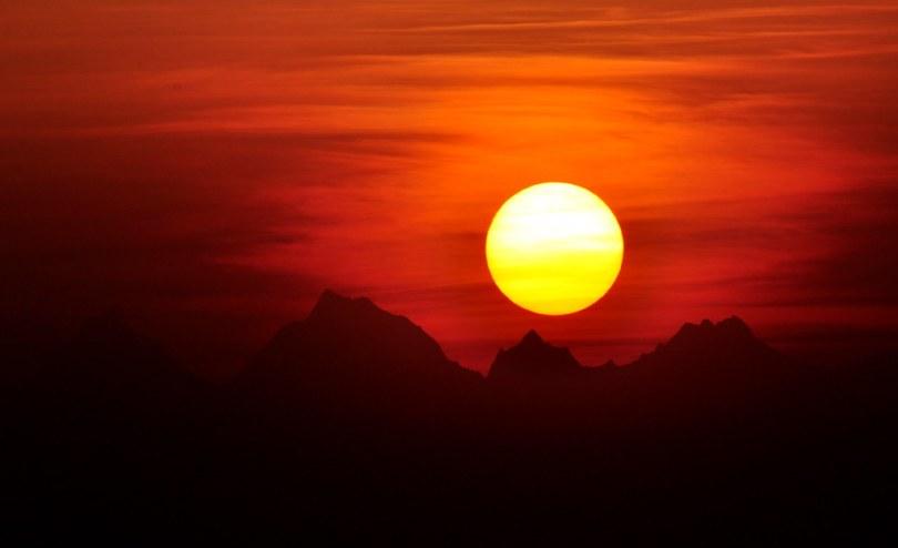 Sunrise from Kausani I
