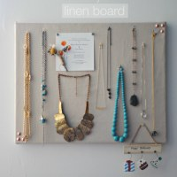 diy | linen pinboard
