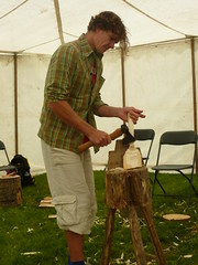Fritiof Runhall spoon carving