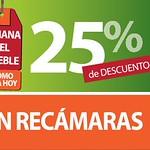 HOY jueves descuento en la semana del mueble RECAMARAS - 28ago14