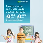 tarifa doble saldo con MOVISTAR - 10sep14