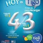 Hoy es buen dia para recargar tu celular TIGO - 02sep14