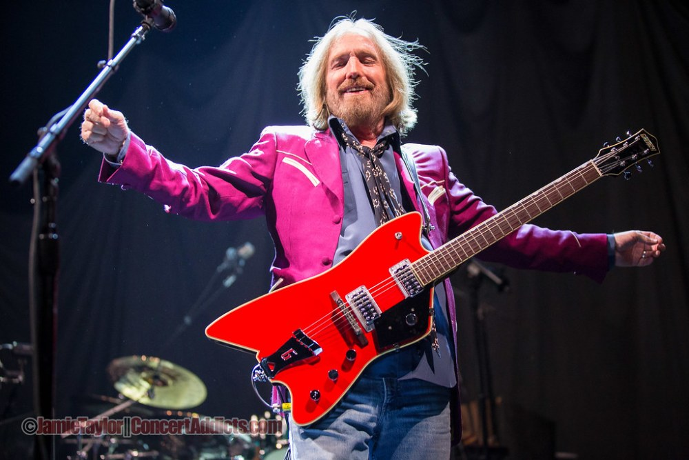 Tom Petty and the Heartbreakers at Rogers Arena in Vancouver, BC on August 14th 2014