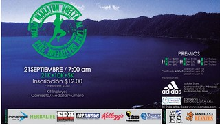 Lago de coatepequ RUN maraton