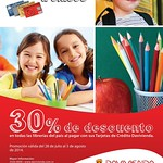 BACK to SCHOOL discounts DAVIVIENDA bank - 28jul14