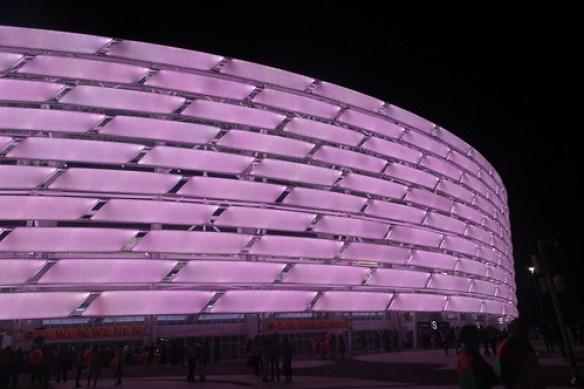 18. Stadion by night