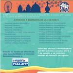 Fiestas Agostinas 2014 atencion de emergencias