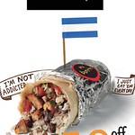 Descuento en todo el MENU mil burritos el salvador - 11sep14