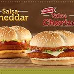 salsa cheddar HAMBURGUESA TIPICA pollo campero