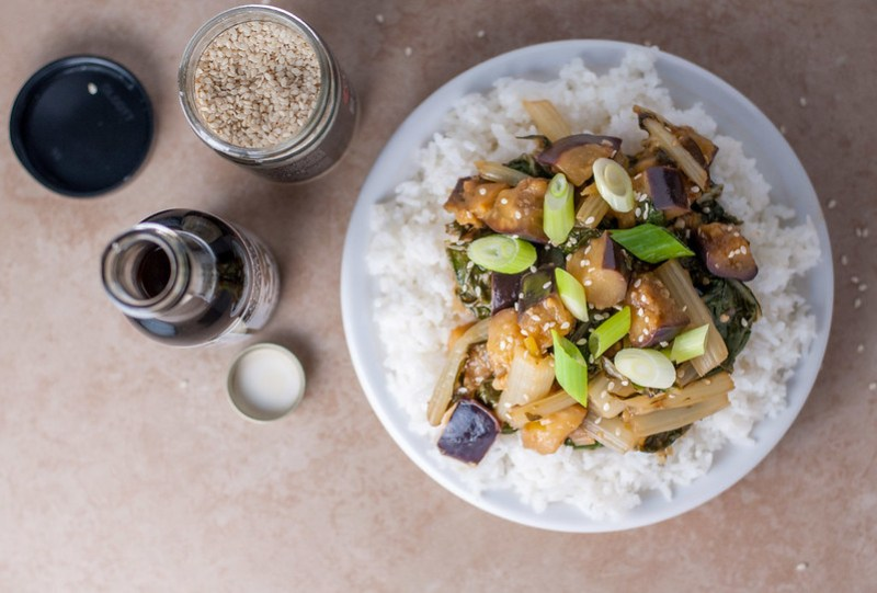 10 healthy summer dinners (like gf/freezer-friendly ginger-lime stir-fry)
