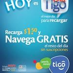 NAVEGA GRATIS con tus recargas TIGO hoy - 29ago14