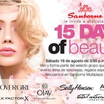 15 days of BEAUTY in SAMBORNS promotions - 15ago14