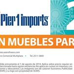 PIER 1 IMPORTS discounts muebles de terraza SEARS - 01ago14