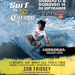 cerveza corona extra te invita SURF 2014 playa el tunco