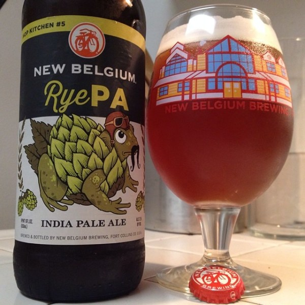 Thirsty Thursday 6/19/14: RyePA by New Belgium. Malty and ...
