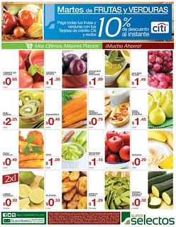 Verduras frescas en tus compras de hoy - 16sep14