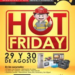 Increibles descuentos que arden HOT FRIDAY de la curacao