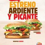 WHOPPER FURIOSO Burger King promociones estreno ardiente y picante