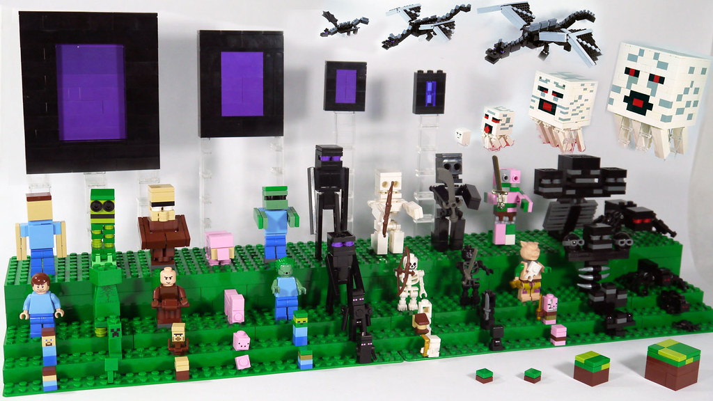 LEGO Minecraft Mobs My Display Watch The Video Www