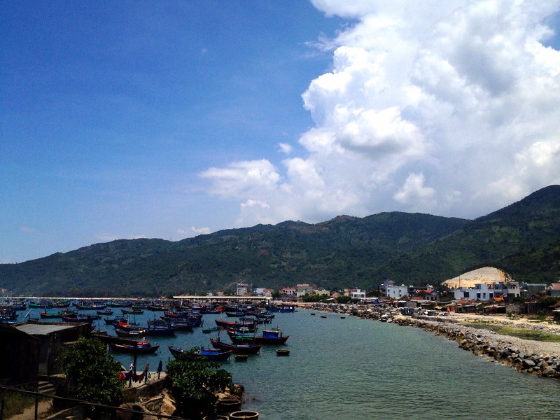 view of dai lanh bay in vietnam