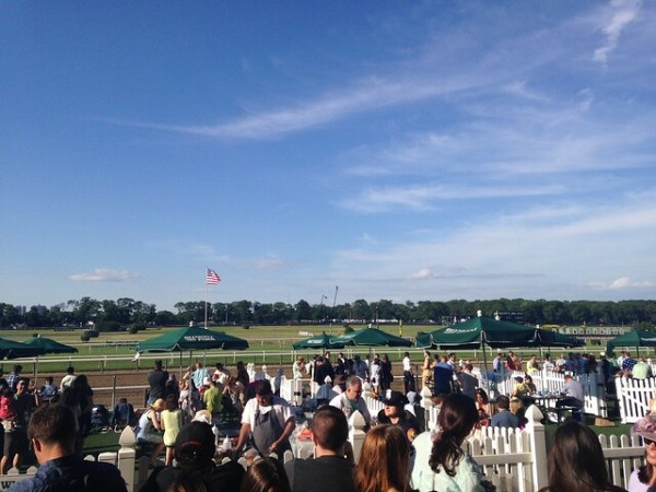 Belmont Stakes grandstand