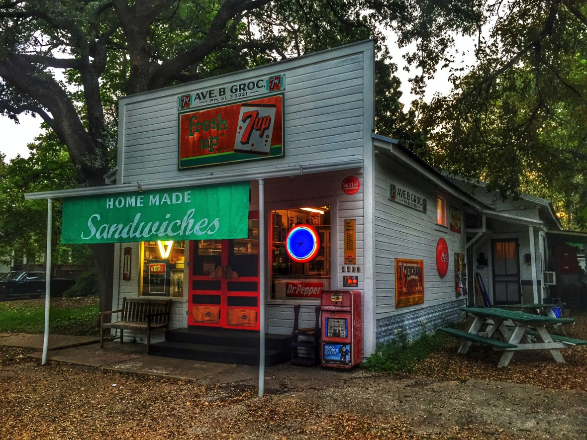Avenue B Grocery - 4403 Avenue B, Austin, Texas U.S.A. - October 7, 2014