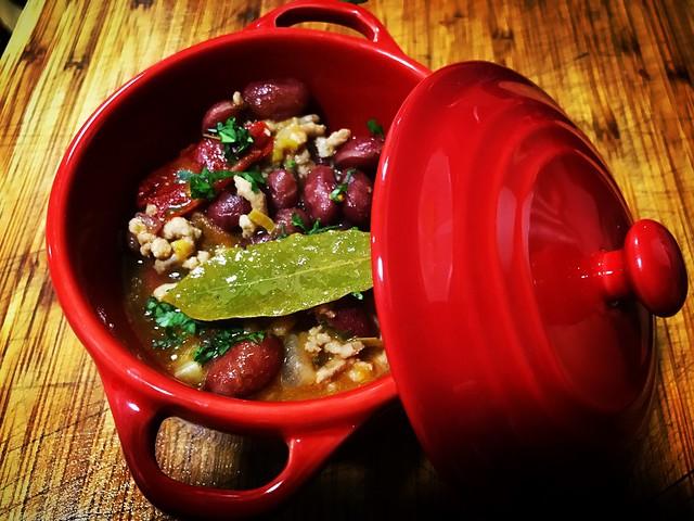 Chili de carne. Cocina TEX-MEX. Koketo