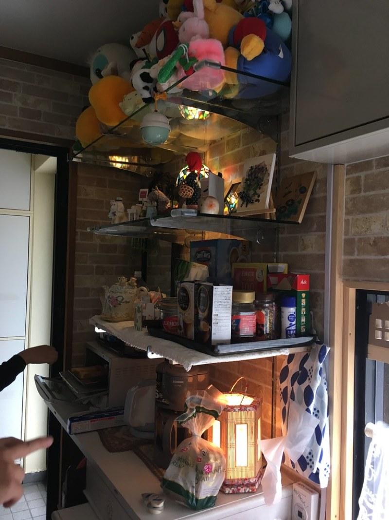 Yume さん 的家門口旁邊的小餐廳