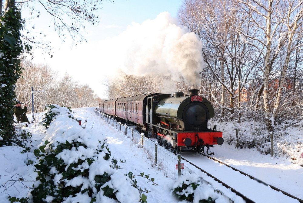 Ribble Steam Railway Santa Special In The Snow Flickr