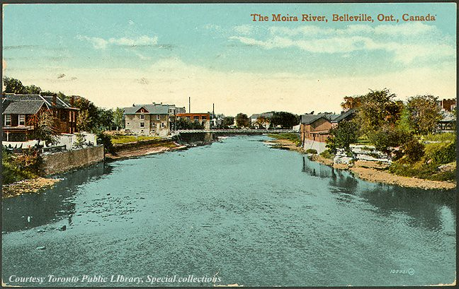 The Moira River Belleville Ontario Canada 1910 Flickr