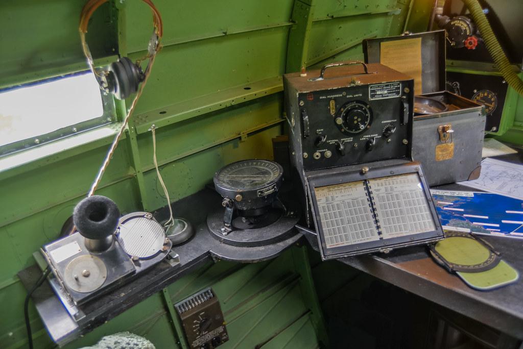 Douglas C 47 Dakota Skytrain Radio Operator Seat Flickr