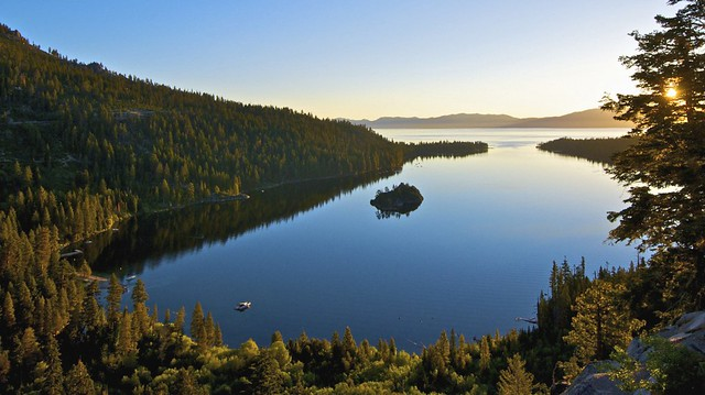 Sunrise, Emerald Bay, Lake Tahoe, CA.