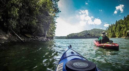 Lake Jocassee with Bennie Waddell-94