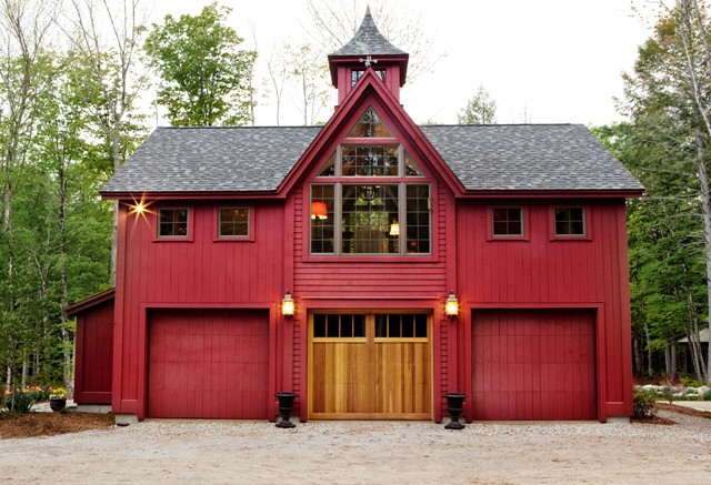 Carriage House Garage Doors Yankee Barn Homes Flickr