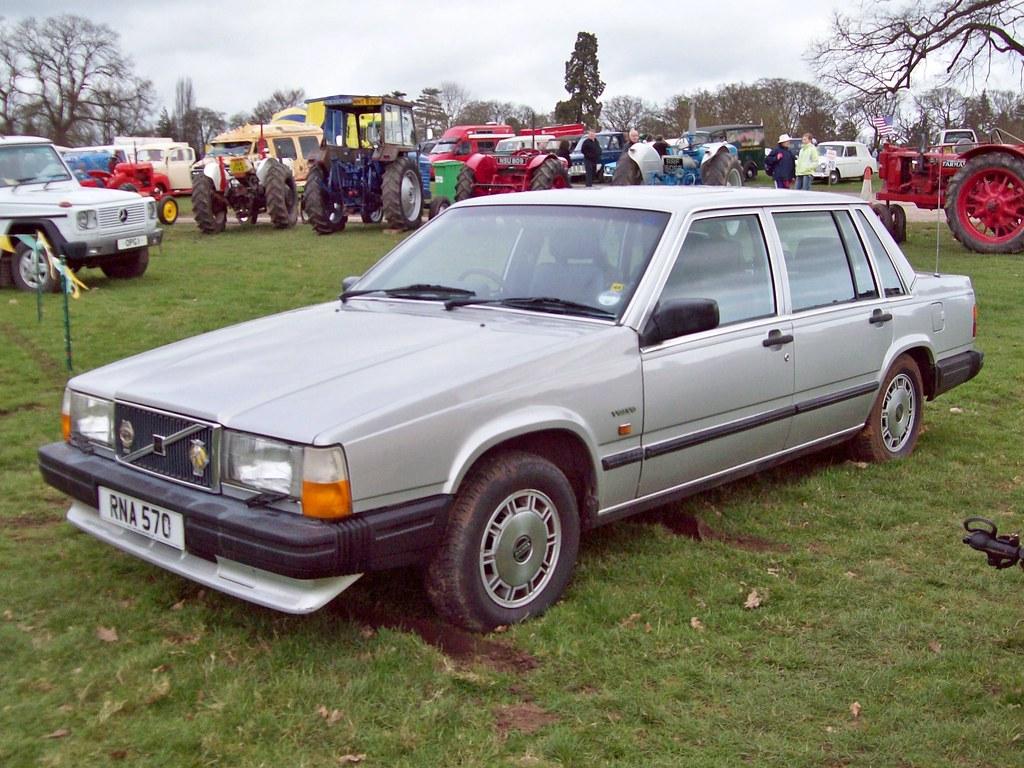 155 Volvo 740 GLE 1988 Volvo 740 GLE 1984 93 Engine