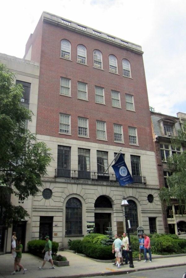 Boston - Back Bay: New England Historic Genealogical Socie ...